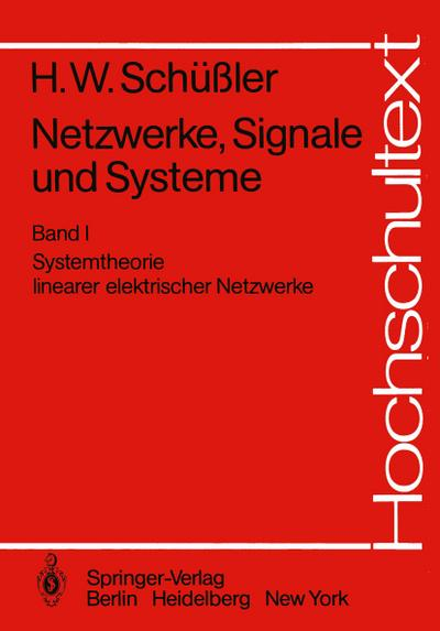 Netzwerke, Signale und Systeme