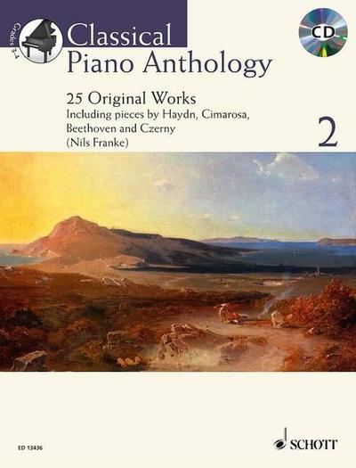 Classical Piano Anthology, m. Audio-CD. Vol.2