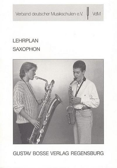 Lehrplan SaxophonVerband deutscher Musikschulen