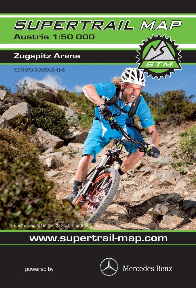 Supertrail Map Zugspitz Arena
