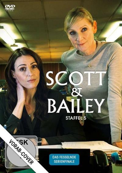 Scott & Bailey - Staffel 5 DVD-Box