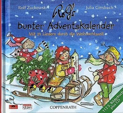 Rolfs bunter Adventskalender (+CD)Bilderbuch