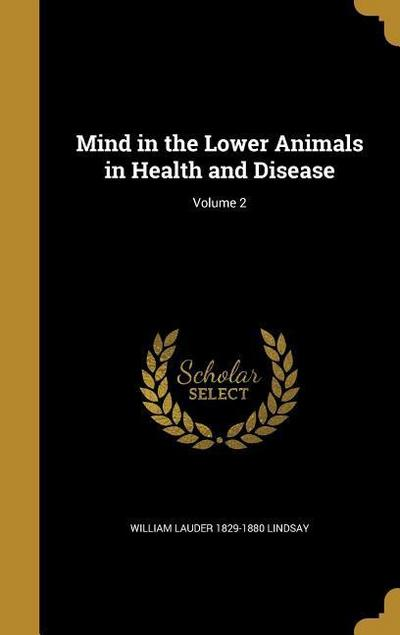 MIND IN THE LOWER ANIMALS IN H