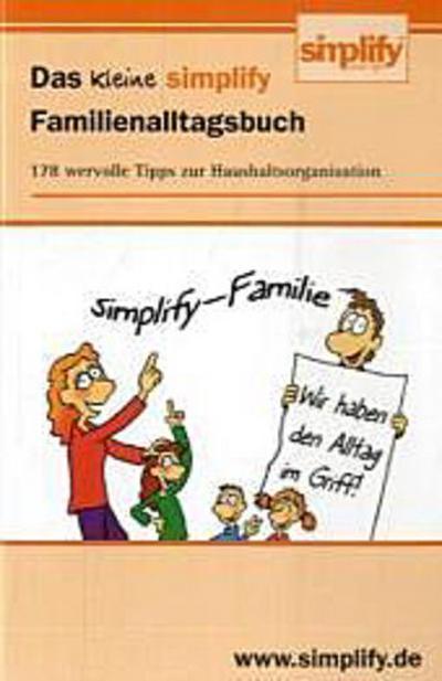 Das kleine simplify Familienalltagsbuch