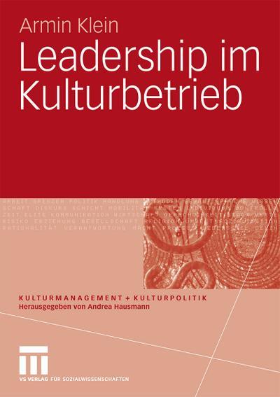 Leadership im Kulturbetrieb
