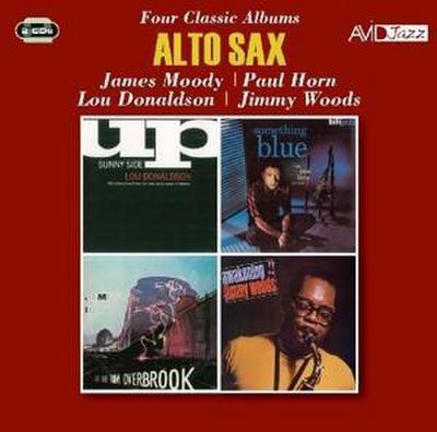 ALTO SAX - FOUR CLASSIC ALBUMS