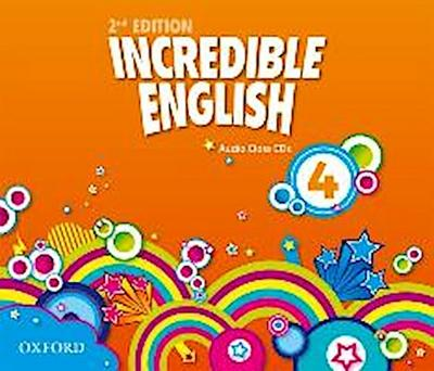 Incredible English 4: Class Audio CDs