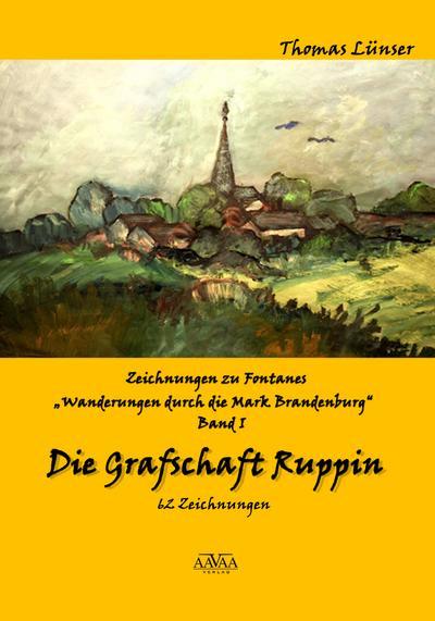 Zeichnungen zu Fontanes 'Wanderungen durch die Mark Brandenburg' 01
