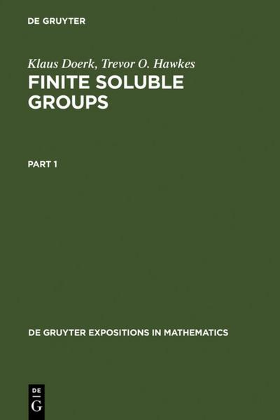 Finite Soluble Groups