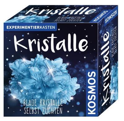 KOSMOS 656034 - Experimentierkasten - Blaue Kristalle selbst züchten