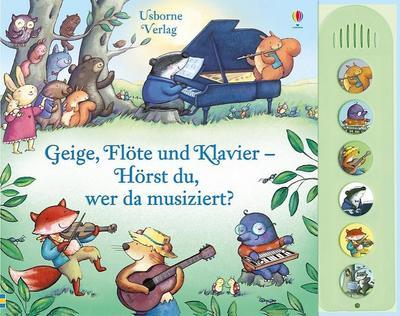 Geige, Flöte und Klavier - Hörst du, wer da musiziert?
