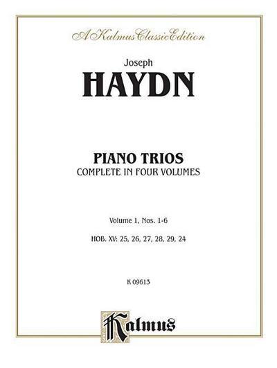 Trios for Violin, Cello and Piano, Vol 1: Nos. 1-6