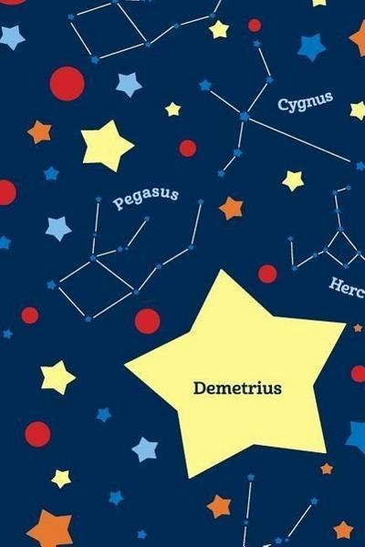 Etchbooks Demetrius, Constellation, College Rule