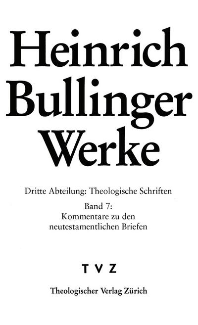 Bullinger, Heinrich: Werke