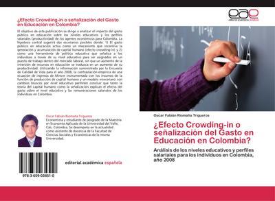 ¿Efecto Crowding-in o señalización del Gasto en Educación en Colombia?