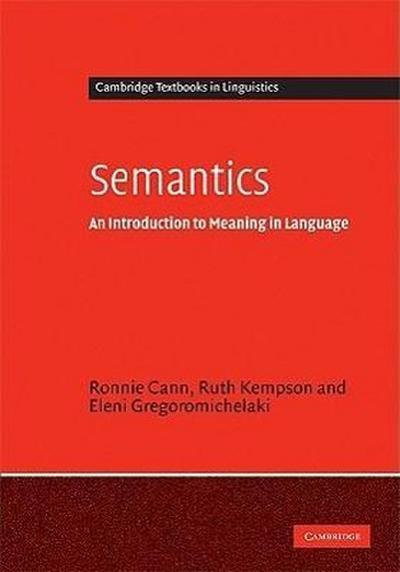 Semantics: An Introduction to Meaning in Language