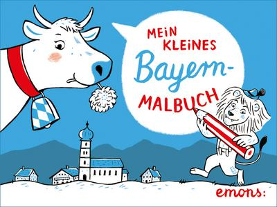 Mein kleines Bayern-Malbuch; Ausmalbuch; Deutsch