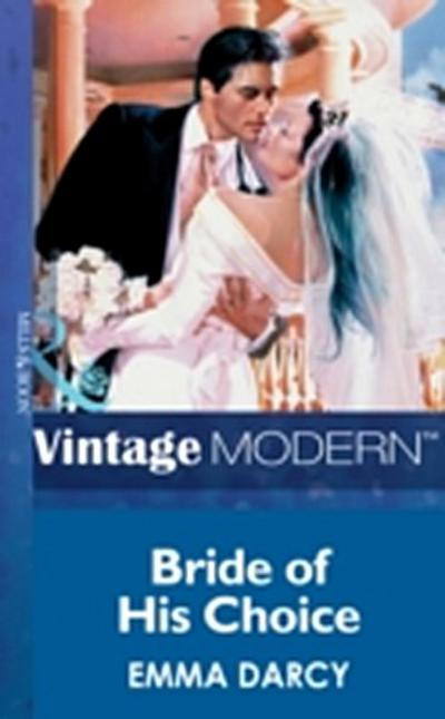 Bride of his Choice (Mills & Boon Modern)