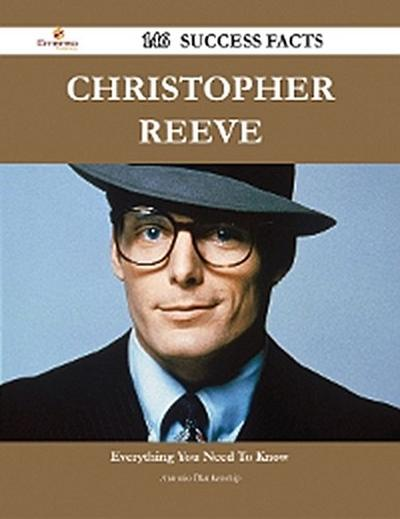 Christopher Reeve 146 Success Facts - Everything you need to know about Christopher Reeve