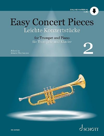 Easy Concert Pieces. Band 2