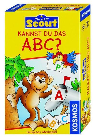 Kosmos 710521 - Scout - Kannst du das ABC? - KOSMOS - Spielzeug, Deutsch, Kai Haferkamp, Tierisches Merkspiel, Tierisches Merkspiel