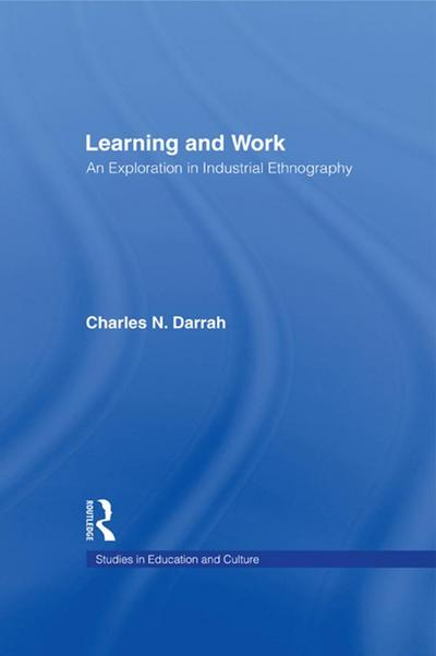 Learning and Work