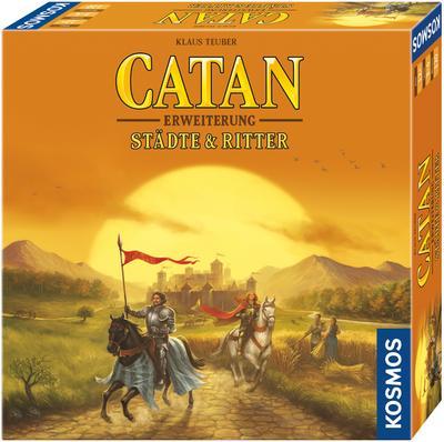 Die Siedler von Catan, Städte und Ritter-Erweiterung (Spiel-Zubehör)