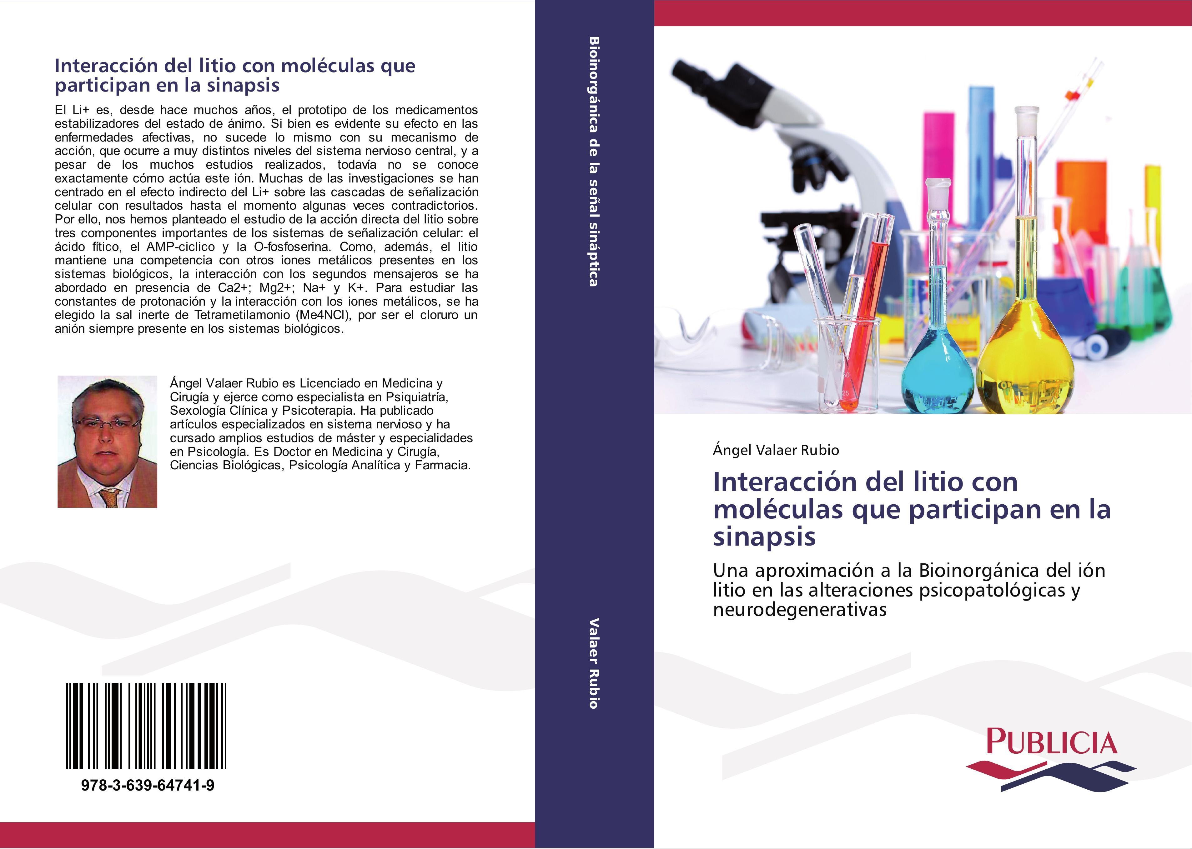 Ángel Valaer Rubio / Interacción del litio con moléculas que ... 9783639647419