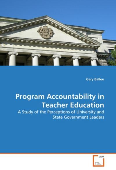 Program Accountability in Teacher Education