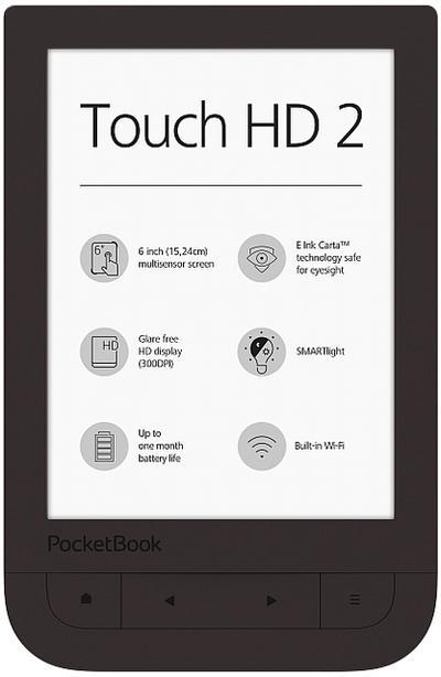 PocketBook 15.2cm(6) Touch HD 2 Dark Chocolate - Pocketbook - Personal Computers, Deutsch, , ,