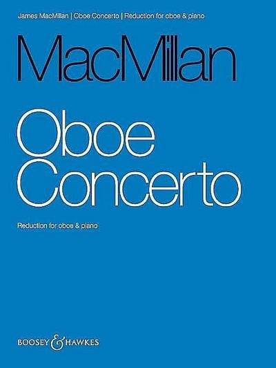 Concerto for Oboe and Orchestrafor oboe and piano