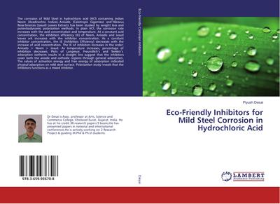 Eco-Friendly Inhibitors for Mild Steel Corrosion in Hydrochloric Acid
