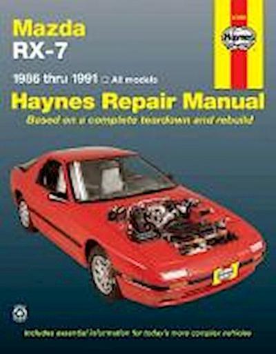 Mazda Rx-7: 1986 Thru 1991 - All Models