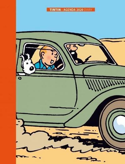Tintin Agenda / Diary 2019 Groß