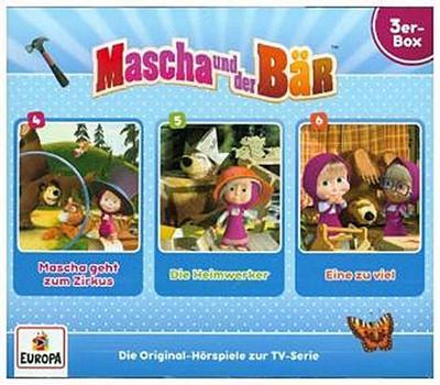 Mascha und der Bär 3er Box 02. (Folgen 4, 5, 6)