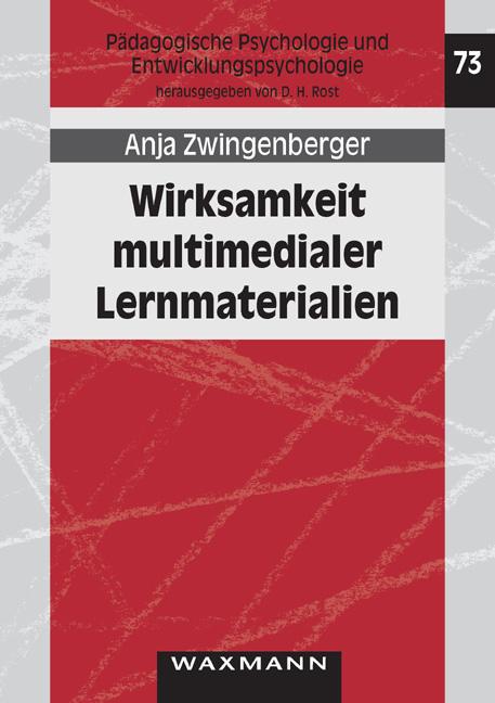 Wirksamkeit multimedialer Lernmaterialien Anja Zwingenberger