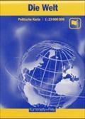 KuF Die Welt. Politische Karte. 1 : 23 000 000