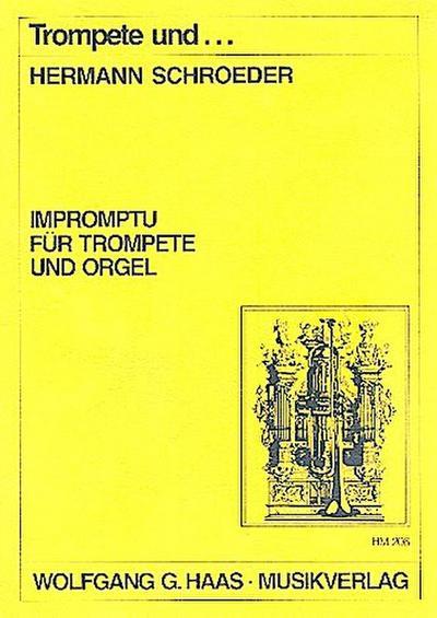 Impromptu :für Trompete und Orgel