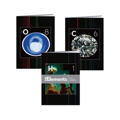 The Elements Notebooks: Set of 3 Life-Sustaining Ruled Notebooks