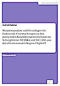 Mutationsanalyse und Grundlagen für funktionale Untersuchungen zu den positionalen Kandidatengenen für katatone Schizophrenie, EIF2AK4 und SLC12A6, aus der chromosomalen Region 15q14-15 - Astrid Hahner