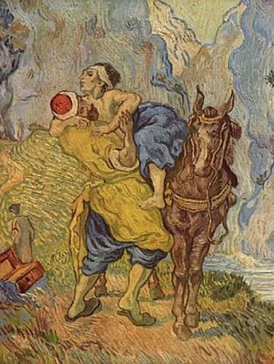 Vincent Willem van Gogh - Der gute Samariter (nach Delacroix) - 200 Teile (Puzzle)