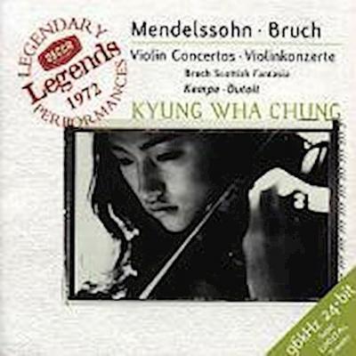 Mendelssohn: Violin Concerto / Bruch: Violin Concerto / Scottish Fantasy