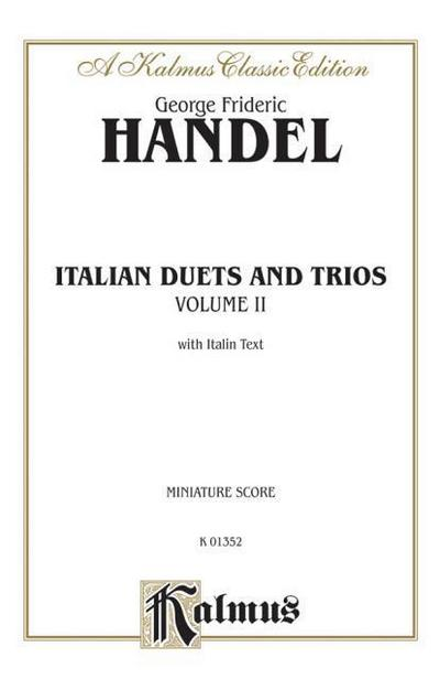 Italian Duets and Trios: Second Edition (Miniature Score), Miniature Score