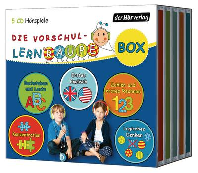 Die Vorschul-Lernraupen-Box