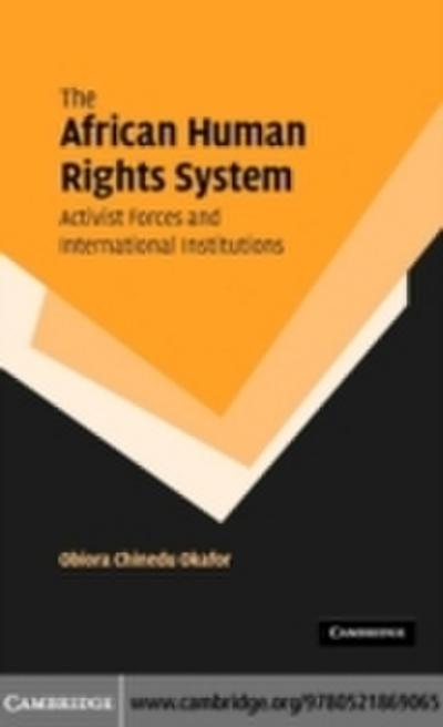 African Human Rights System, Activist Forces and International Institutions