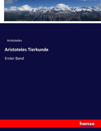 Aristoteles Tierkunde