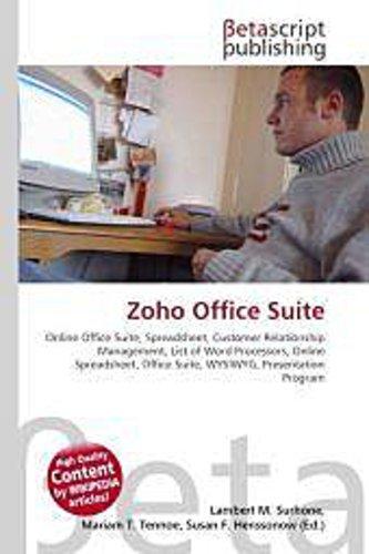 Zoho Office Suite - Lambert M. Surhone -  9786130304669