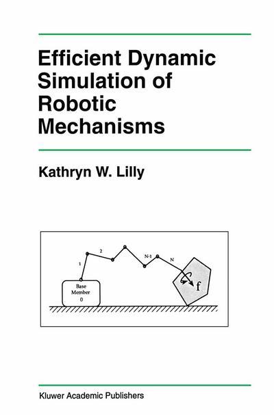 Efficient Dynamic Simulation of Robotic Mechanisms