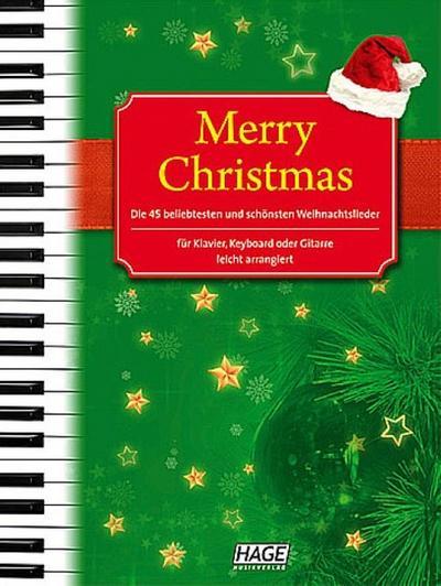 Merry Christmas für Klavier, Keyboard oder Gitarre