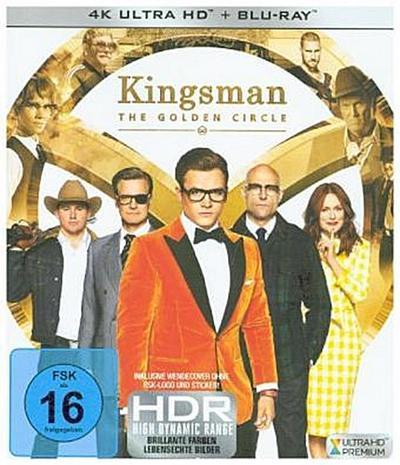 Kingsman - The Golden Circle 4K, 1 UHD-Blu-ray